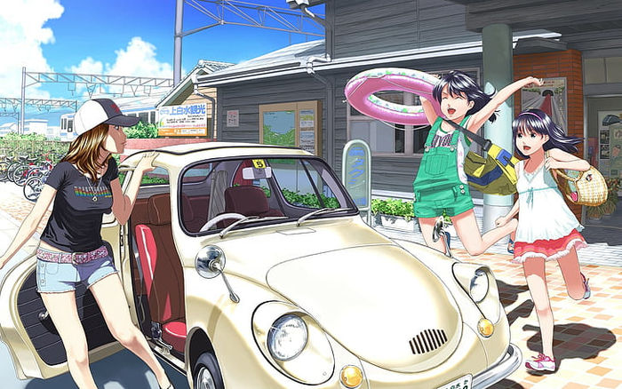 Animated Pictures Of Car Service