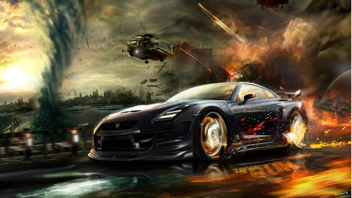 Animated Pictures Of Car