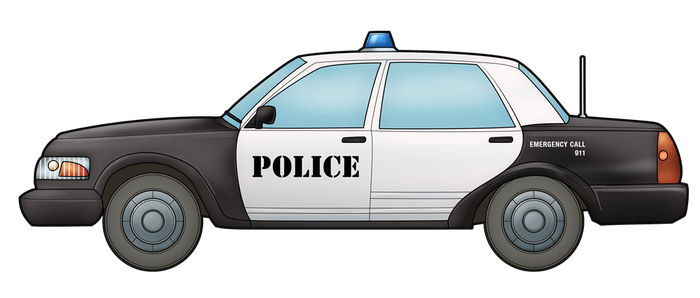 Animated Police Car Pictures