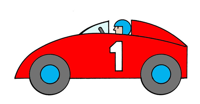 Animated Race Car Pictures