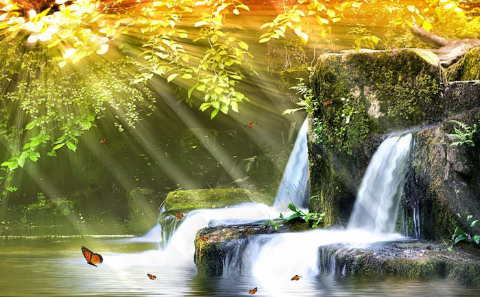 animated waterfall images