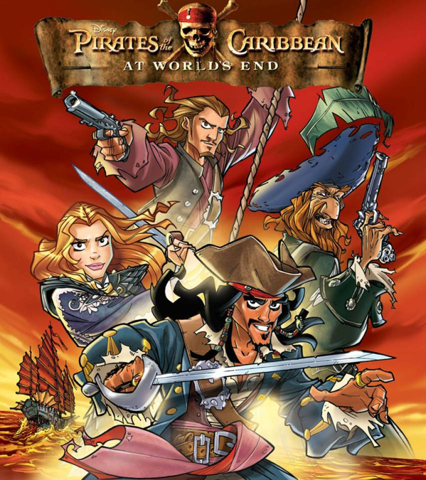 Best Pirates Of The Caribbean Animated Pictures