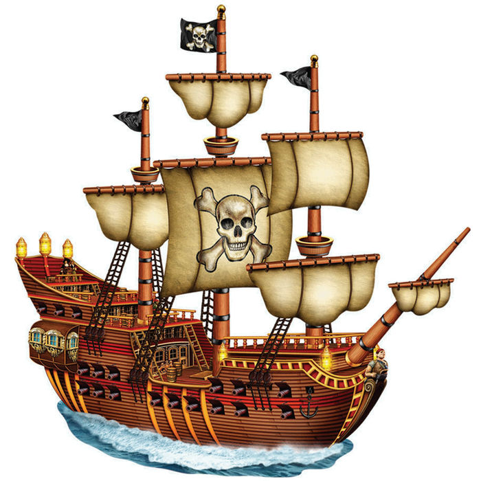 Pirate Ship Animated Images