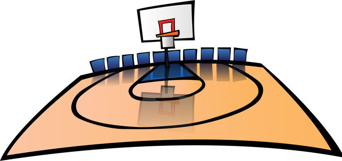 Animated Pictures Of Basketball Court