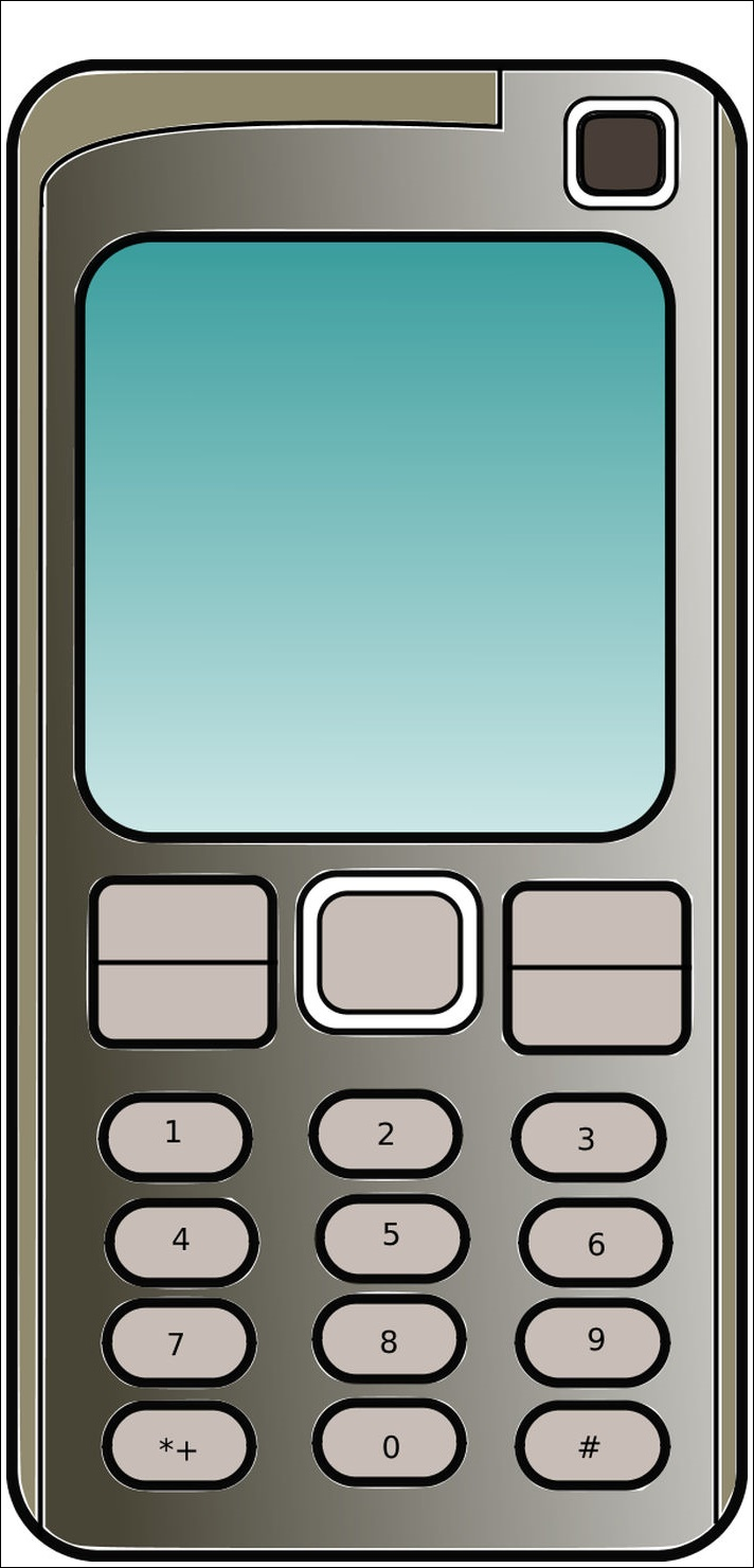 Mobile Phone Animated Images