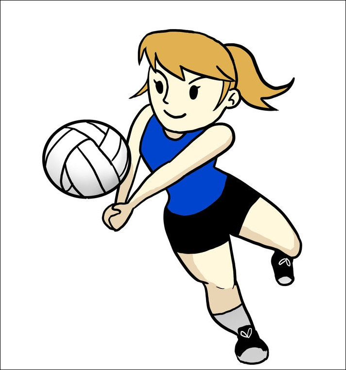 Animated Volleyball Images