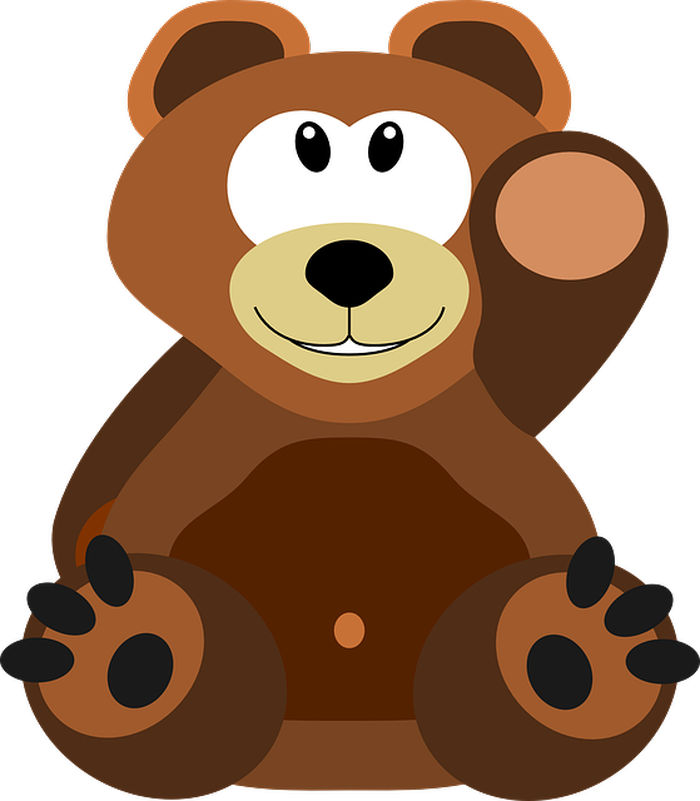 Cute Animated Bear Pictures