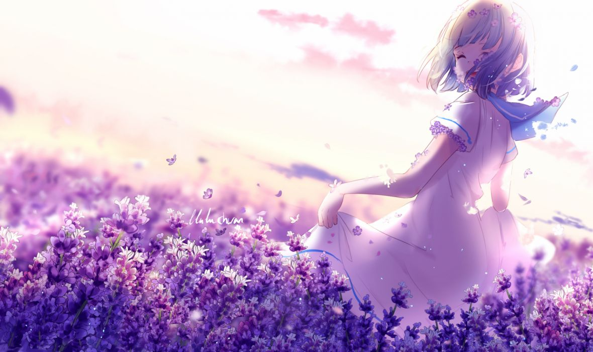Flowers Anime Wallpapers