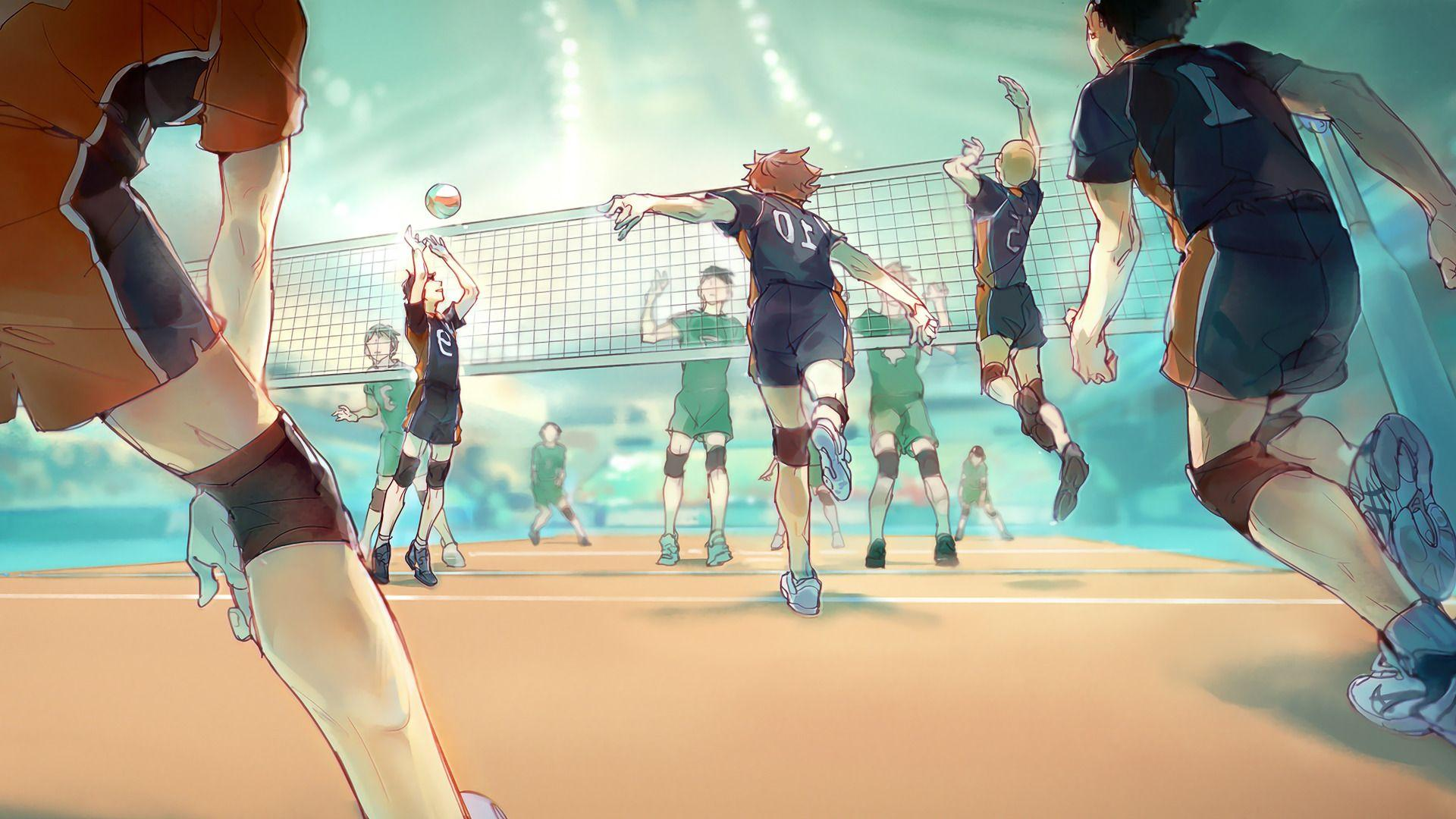 Volleyball Anime Wallpapers