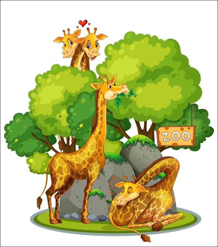 Animated Images Of A Giraffe