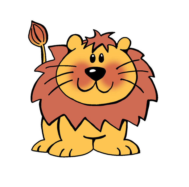 Animated Lion Cub Pictures