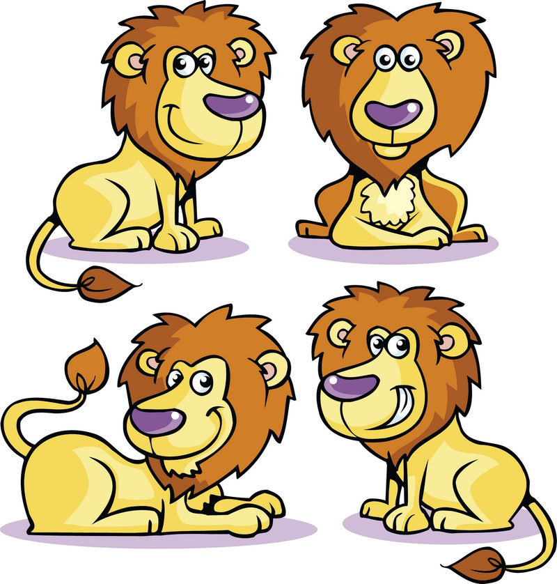 Animated Pictures Of A Lion