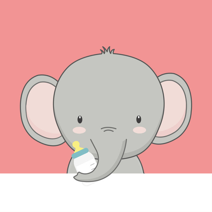 Animated Pictures Of Baby Elephants