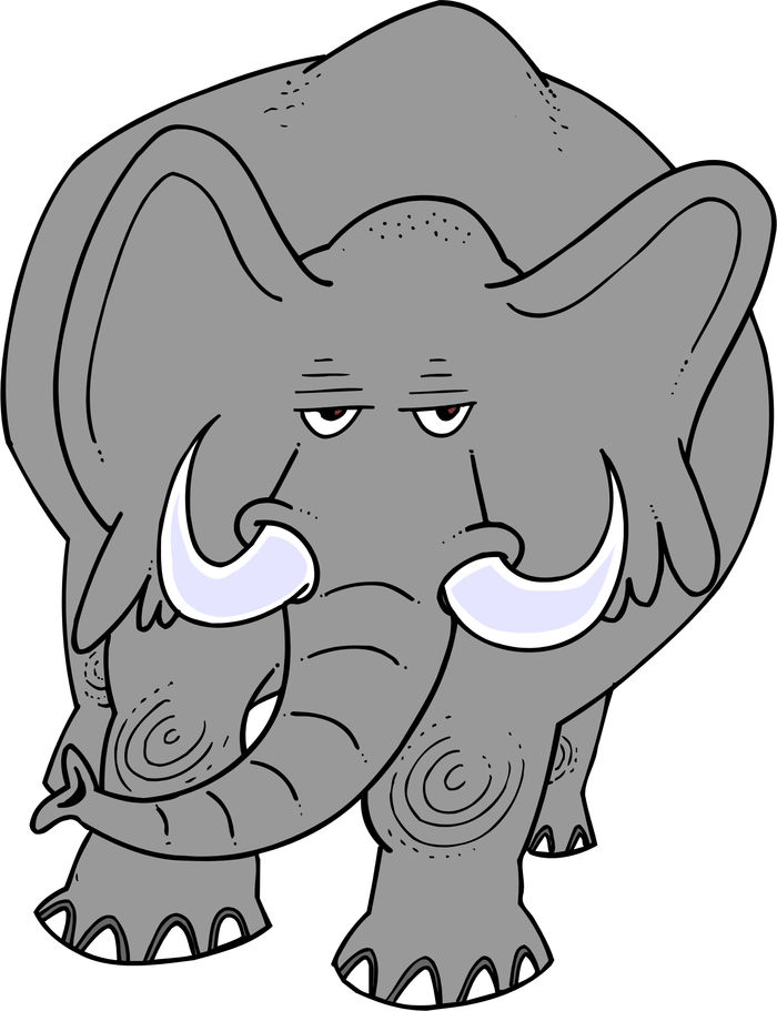 Animated Pictures Of Elephant Gif