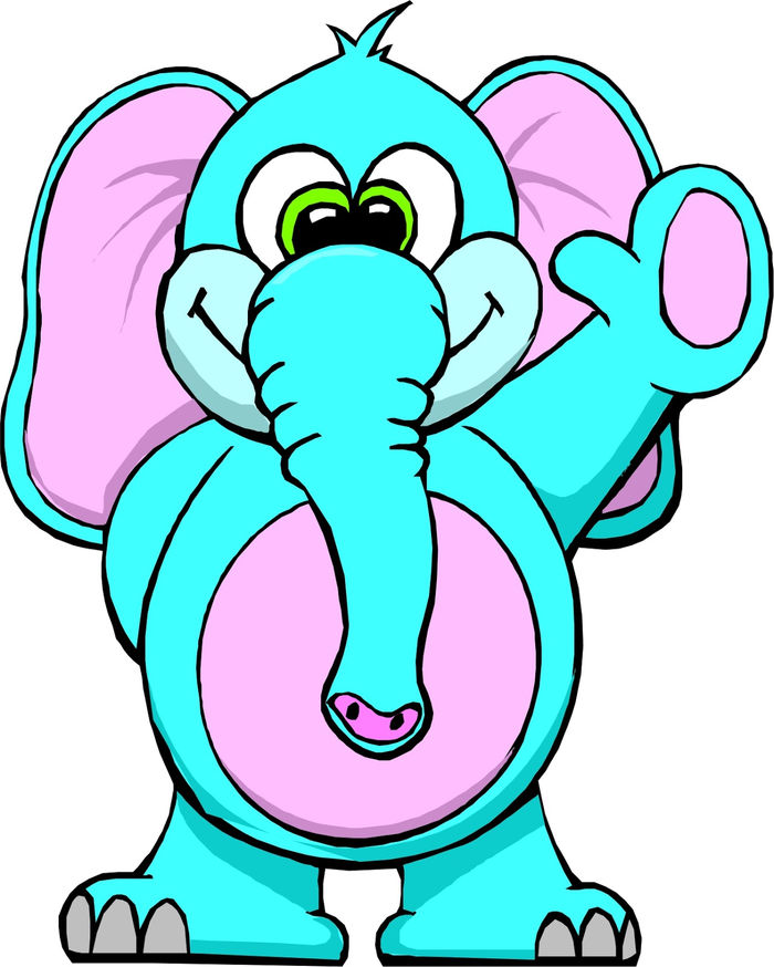 Animated Pictures Of Walking Elephant