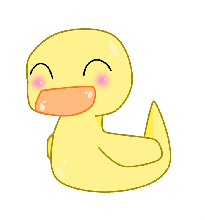 Cartoon Pictures Of Animated Duck