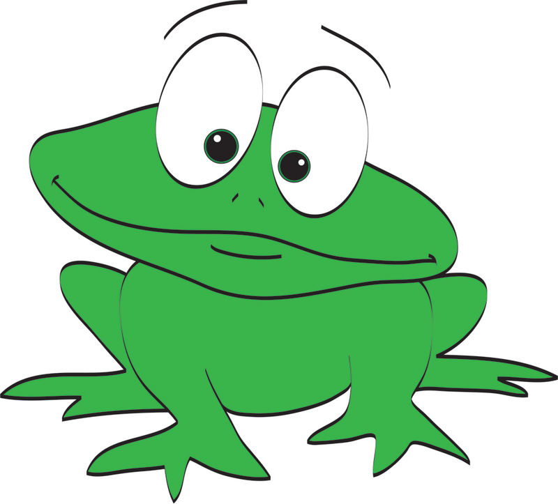 Cute Animated Frog Images
