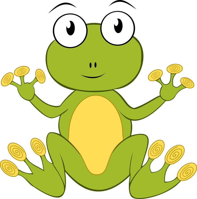 Cute Animated Frog Pictures