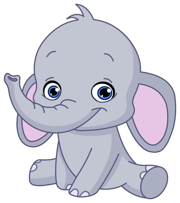 Cute Animated Pictures Of Elephants