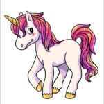 Cute Animated Pictures Of Unicorns