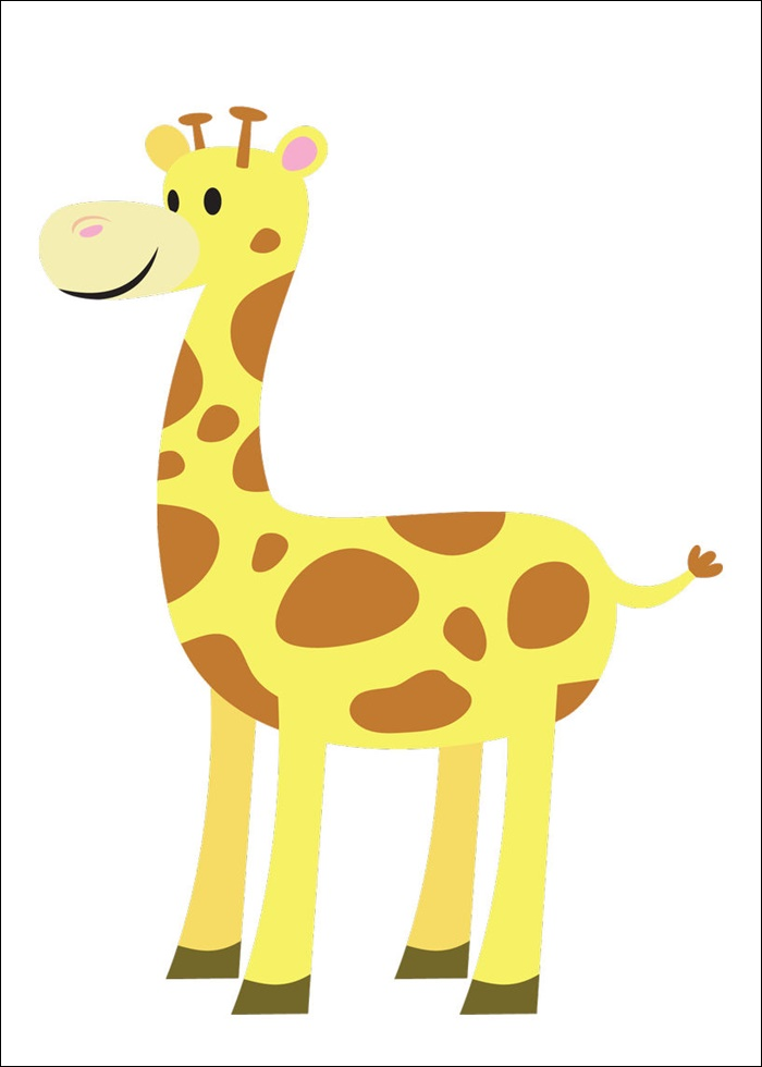 Giraffe Animated Pictures