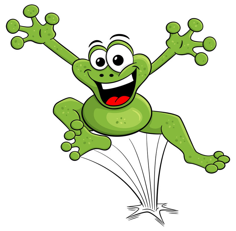 Jumping Frog Animated Pictures
