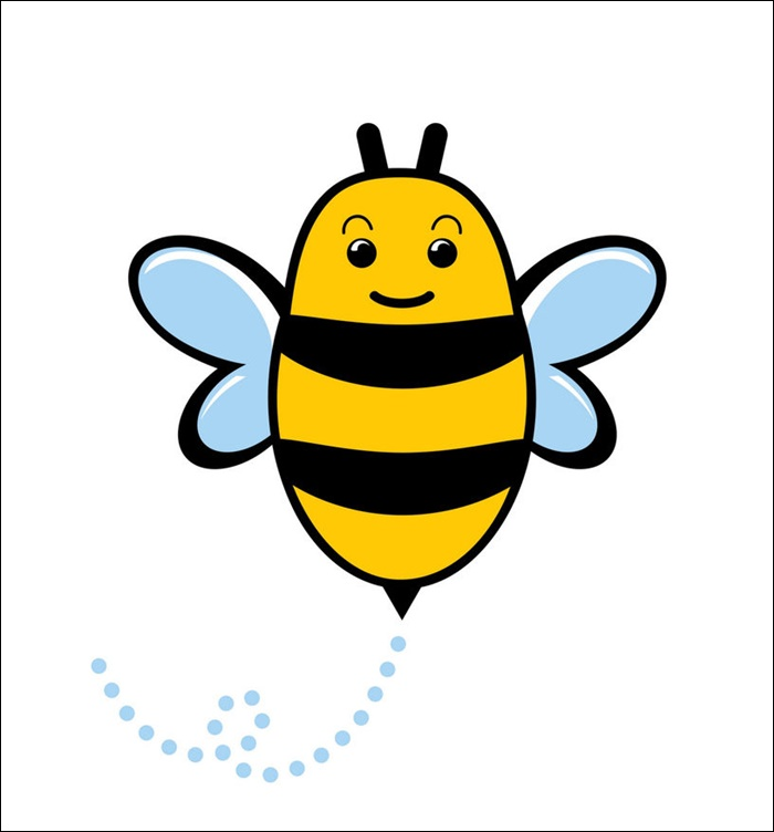 animated images of a bee