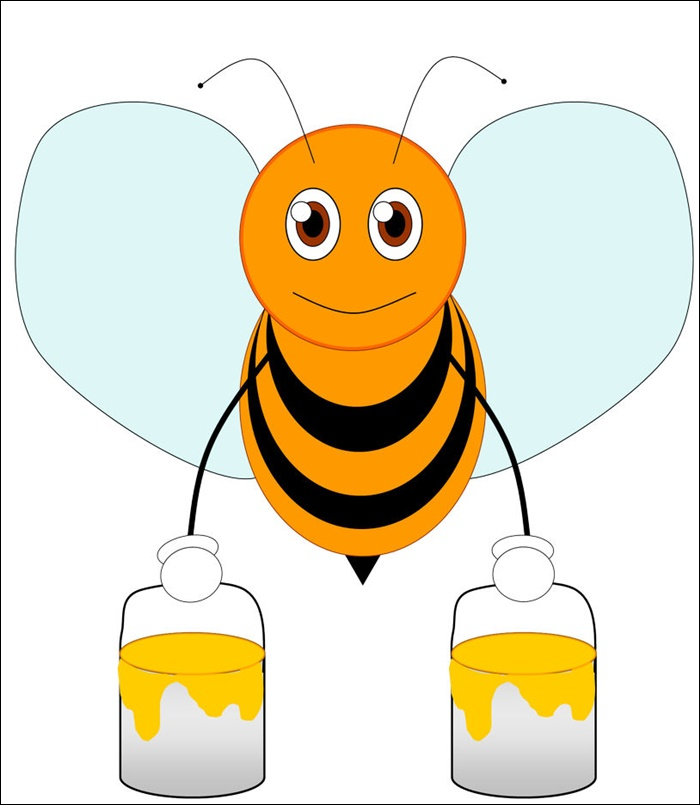 bees cartoons pictures