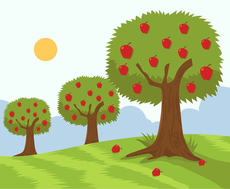 Animated Apple Tree Pictures