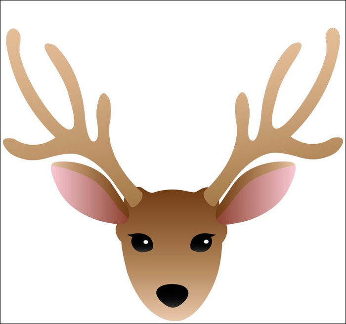 Animated Deer Head Images