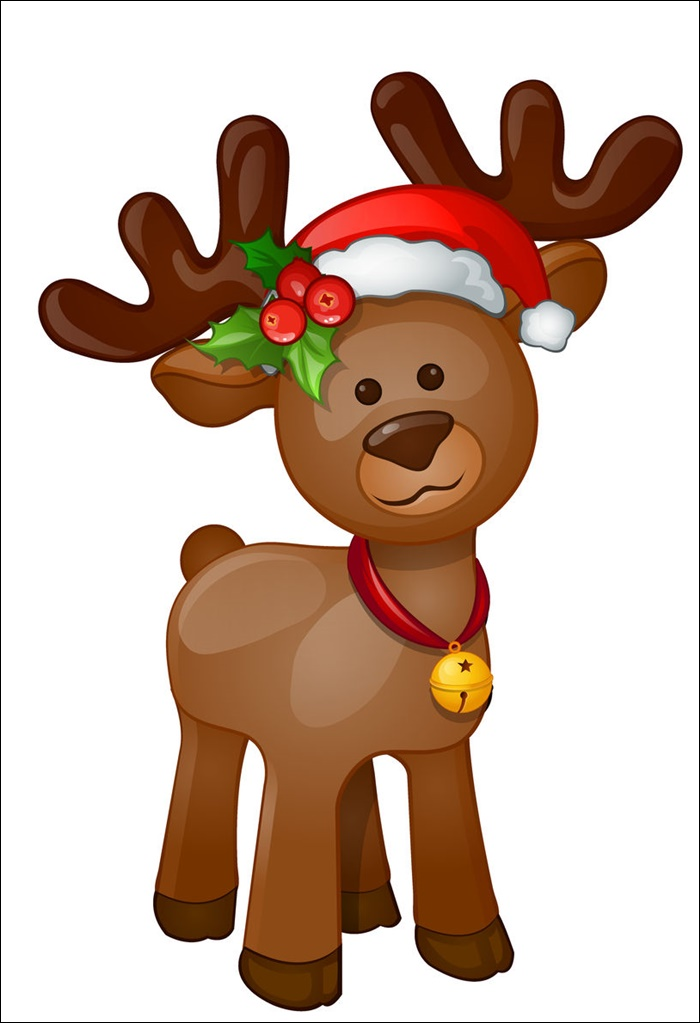 Animated Pictures Of Christmas Deer