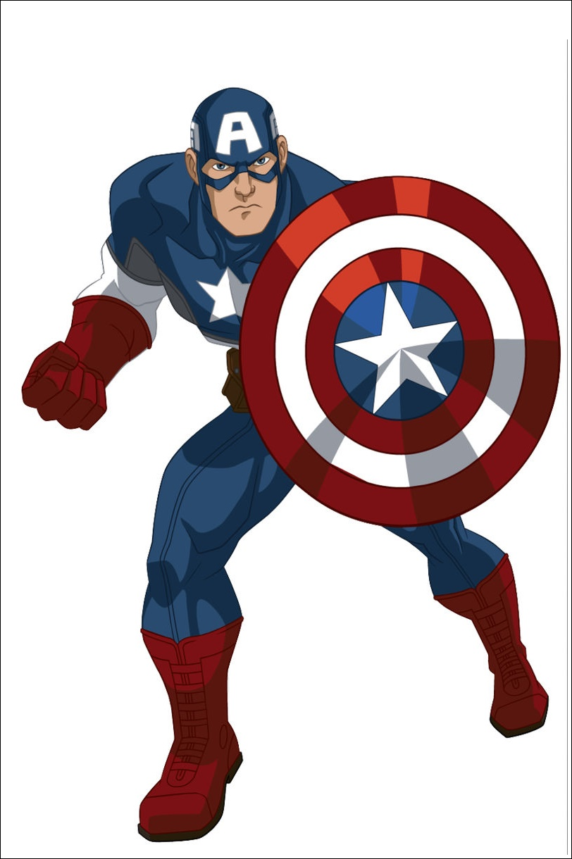 Captain America Action Images