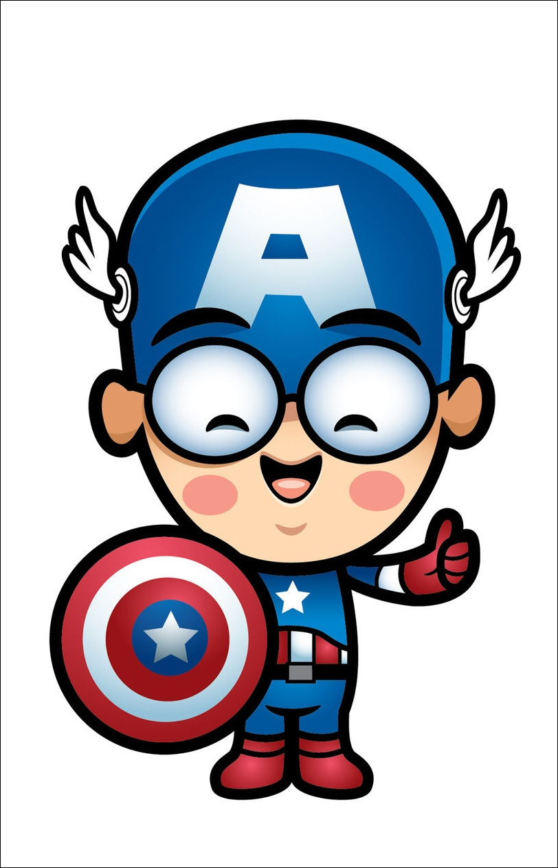 Captain America Animated Images