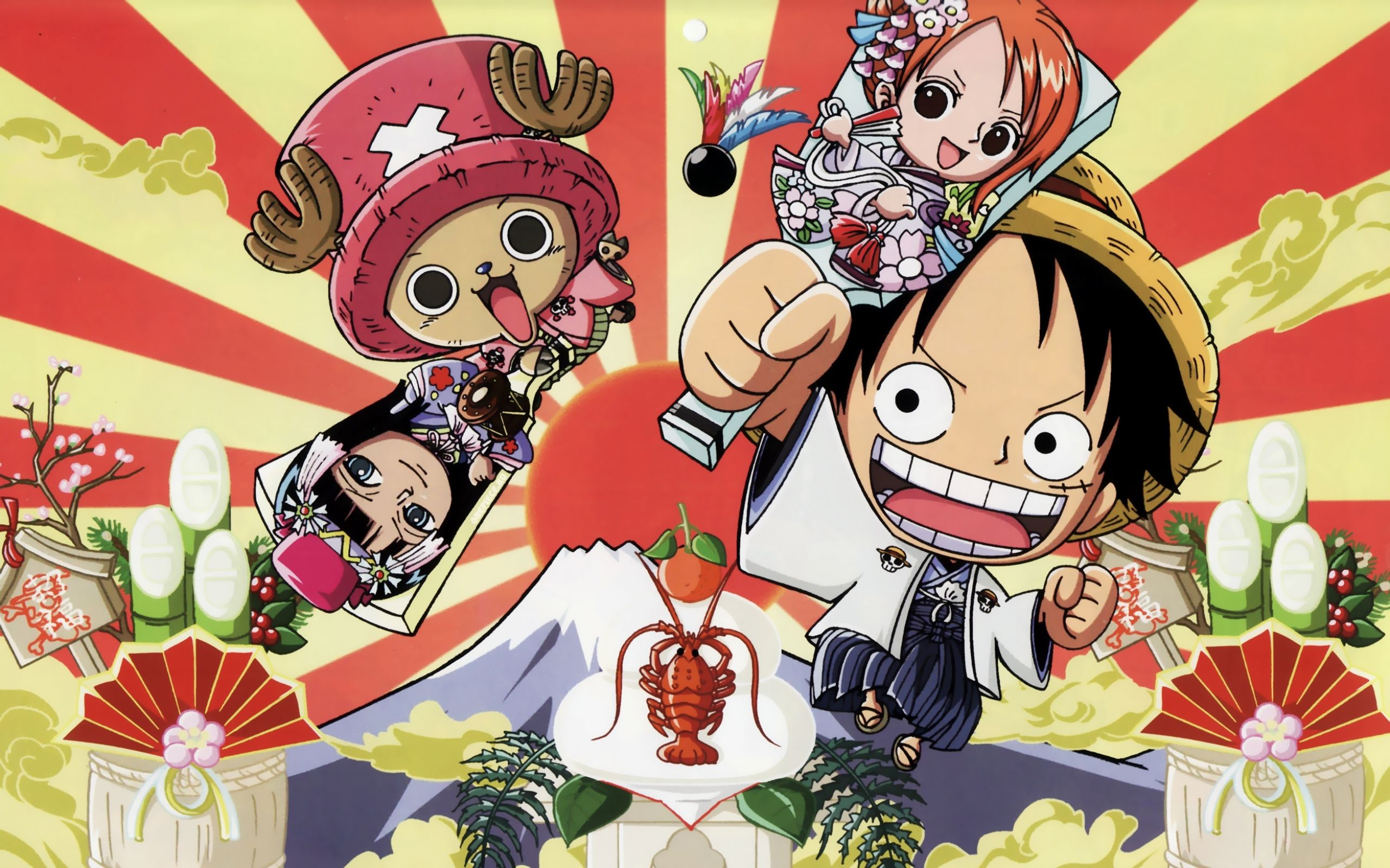 Chibi One Piece Wallpaper Images