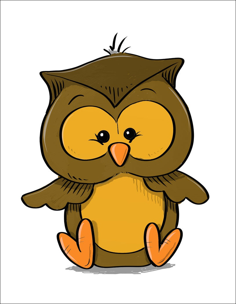 Cute Animated Owl Images
