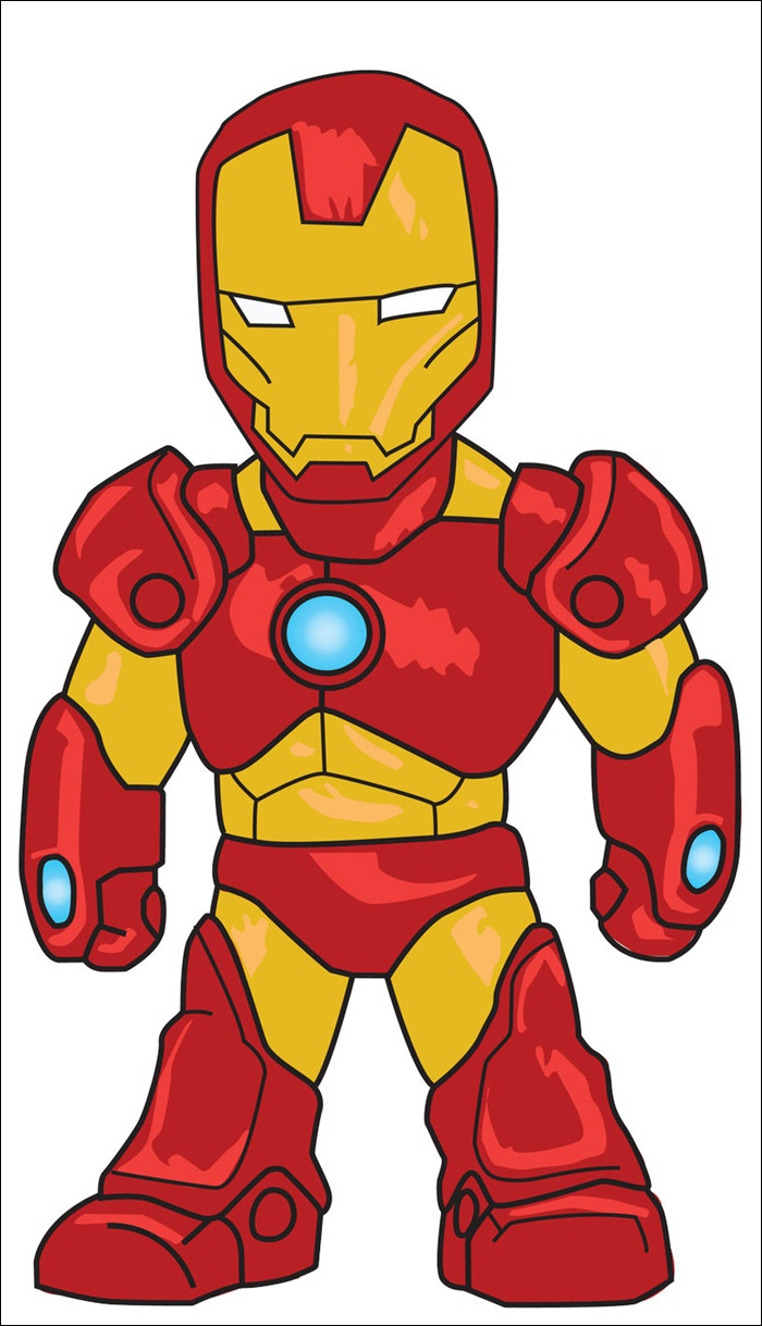 Iron Man Animated Picture