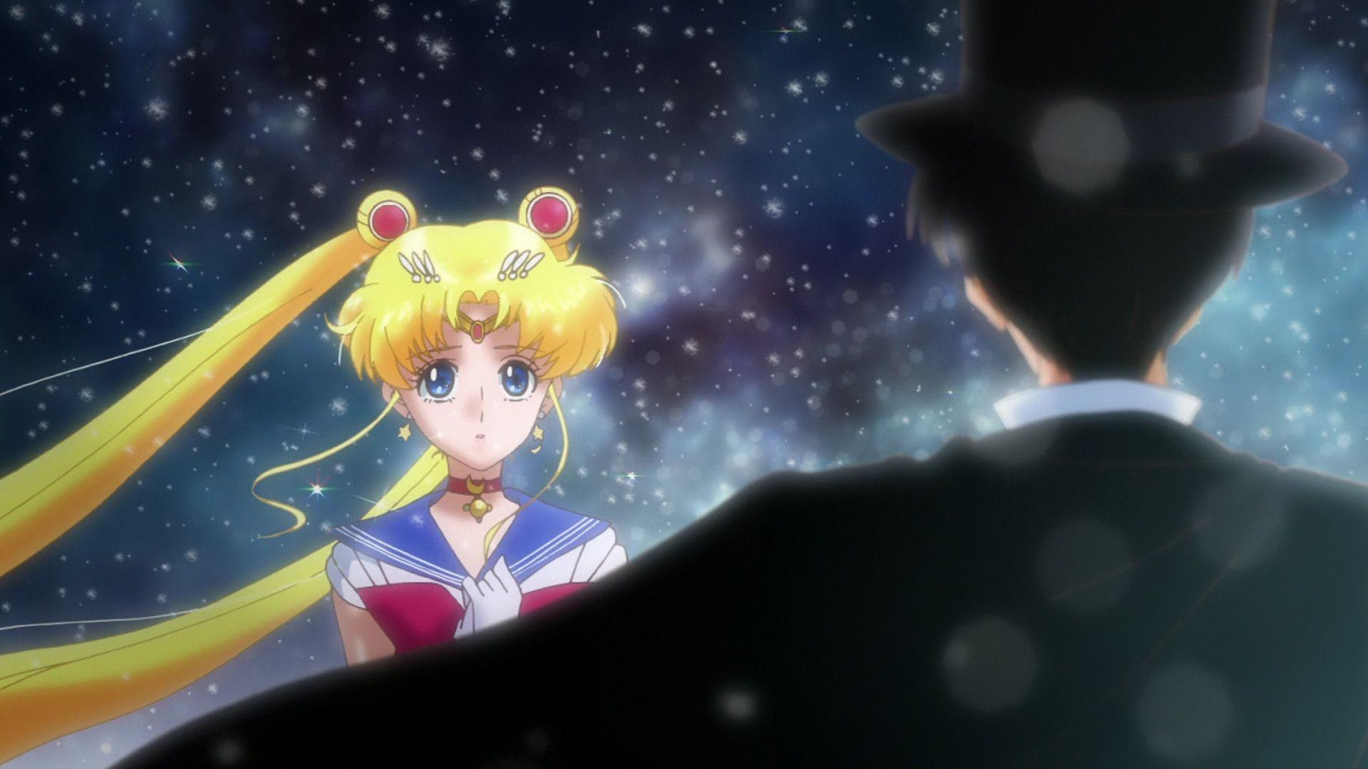 Sailor Moon And Tuxedo Mask Images