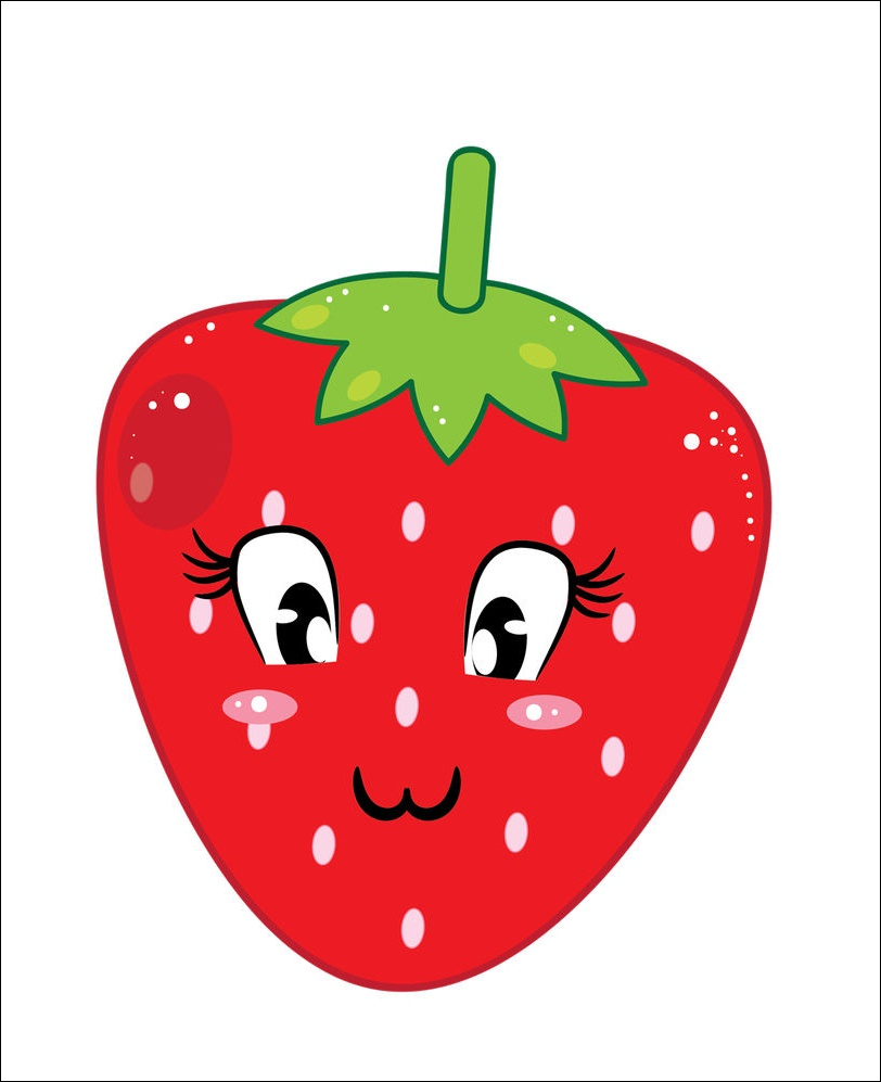 Strawberry Cartoon Pictures