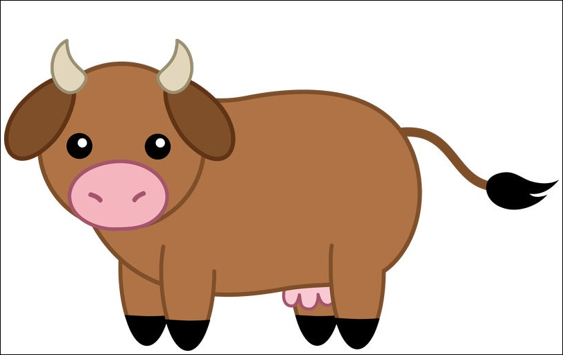 Animated Pictures Of A Cow