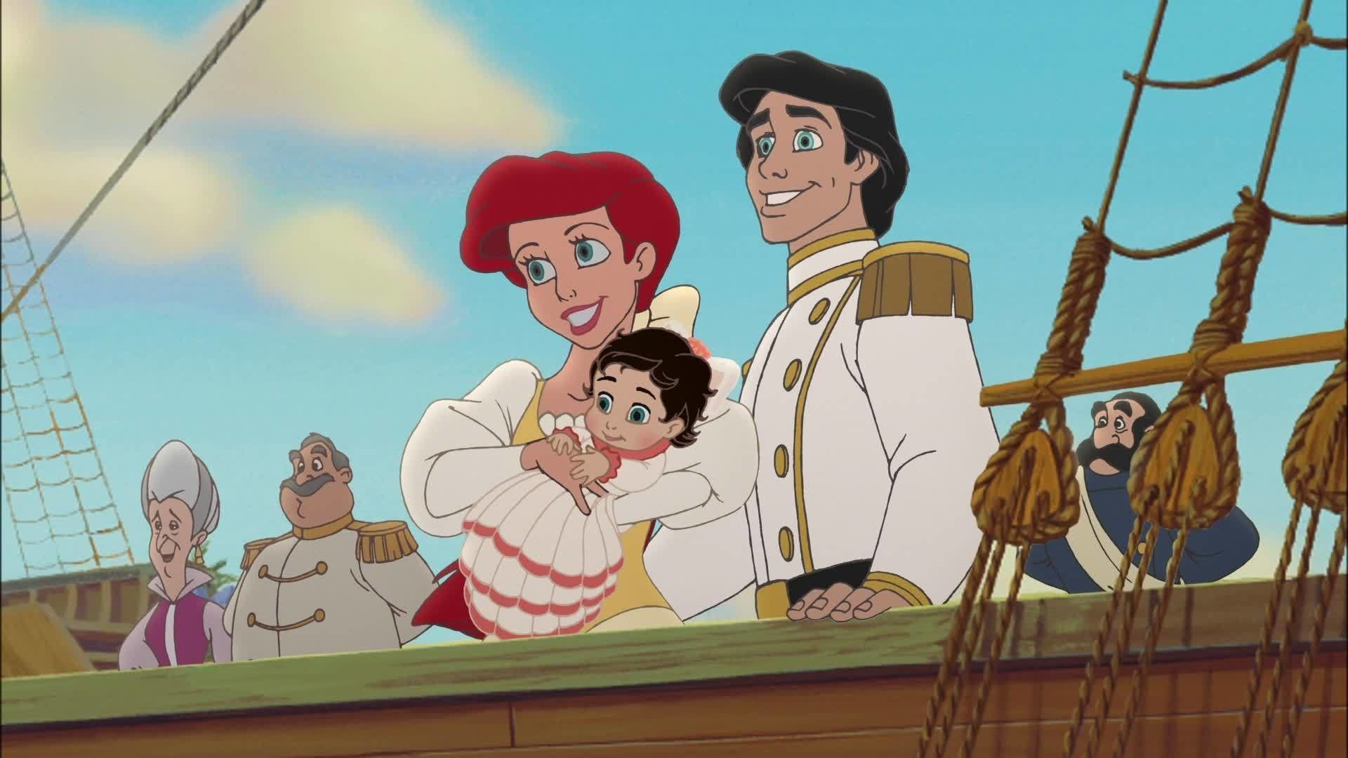 Ariel And Eric Little Mermaid Images