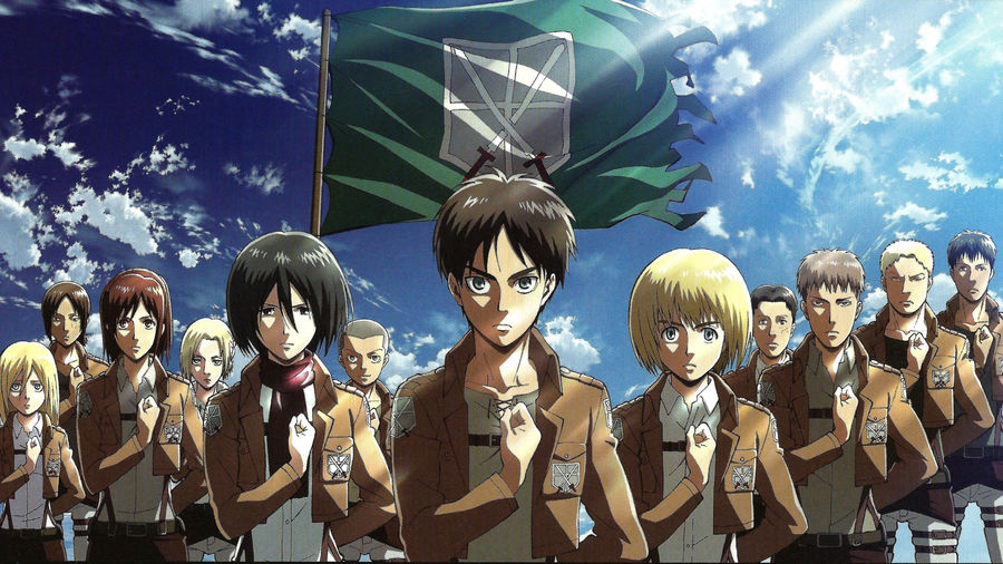 Attack On Titan Characters Images