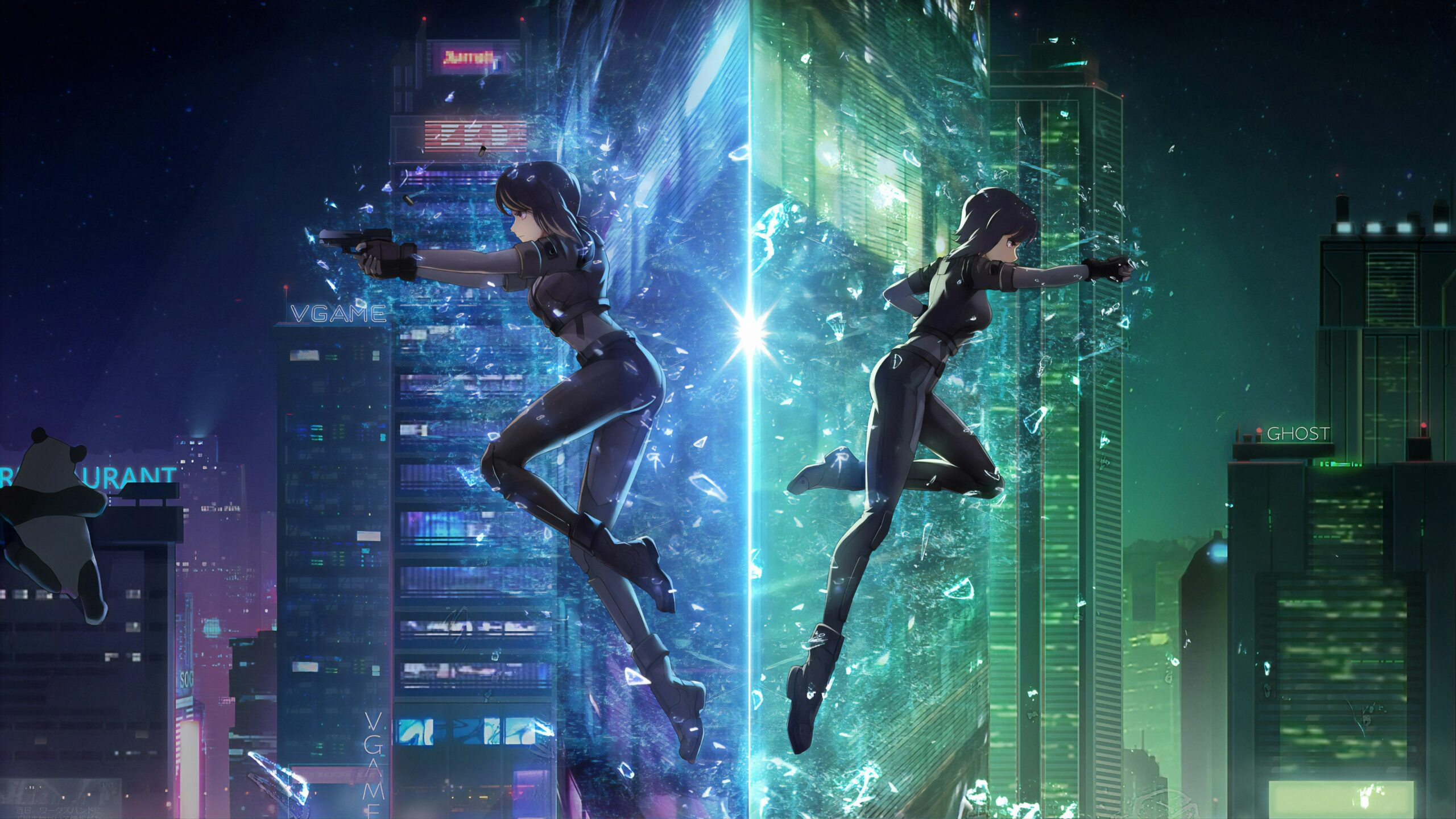 Ghost In The Shell Anime Wallpapers
