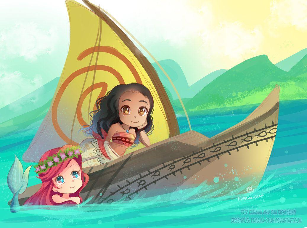 Little Mermaid And Moana Images