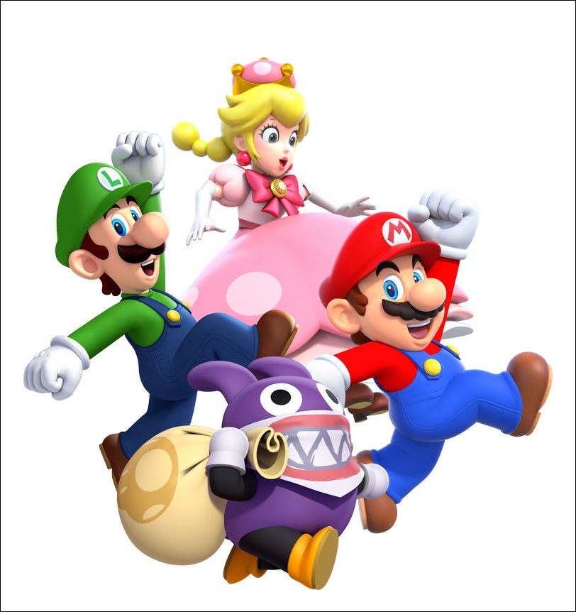 Mario And Friends Images