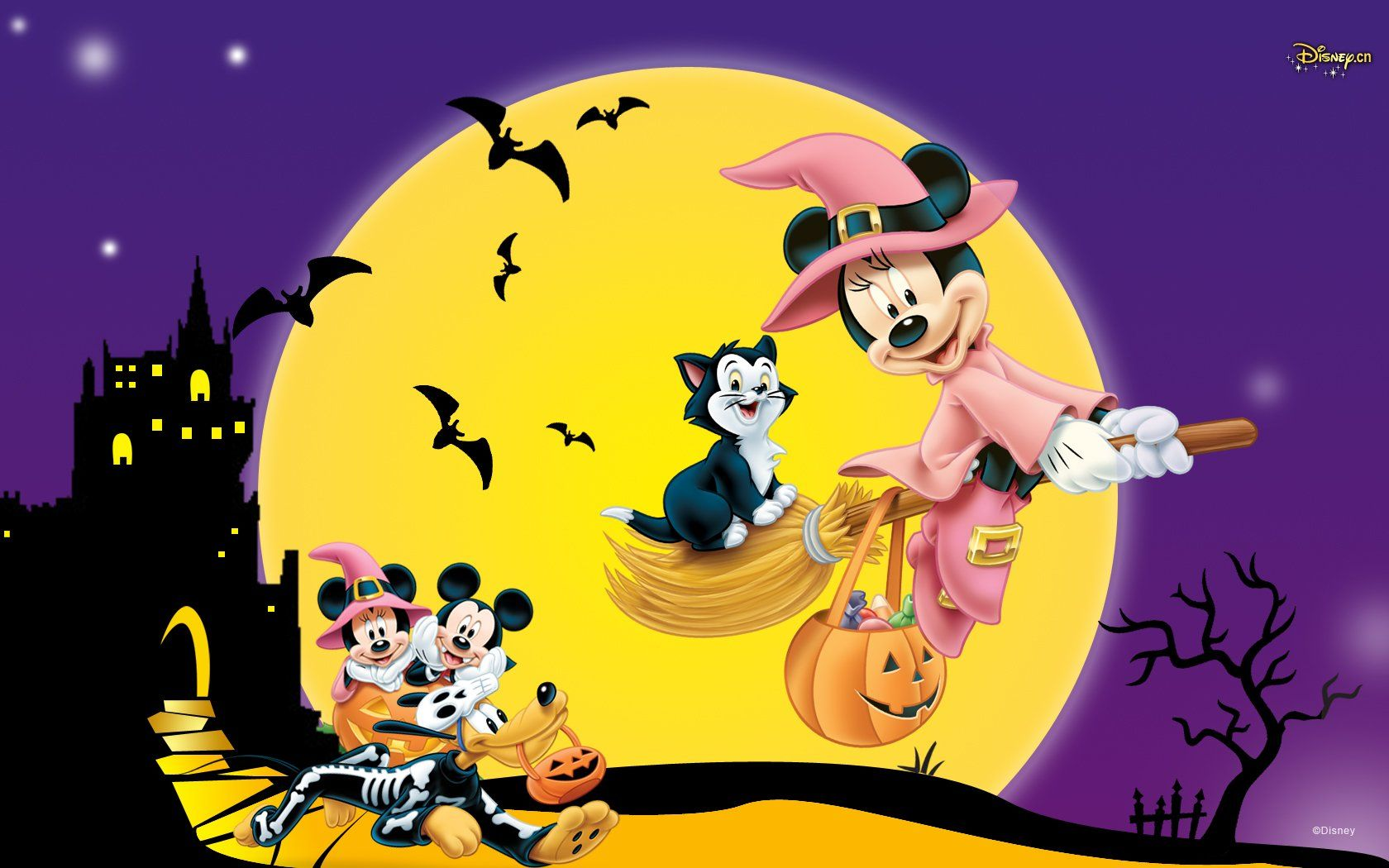 Mickey Mouse Halloween Wallpapers