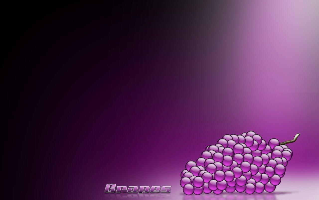 Purple Grapes Wallpapers