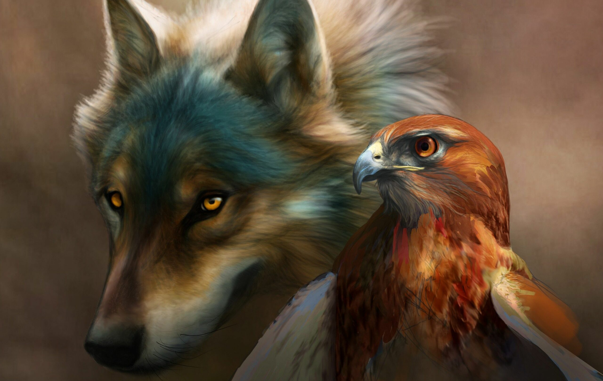 Wolves And Eagles Wallpapers