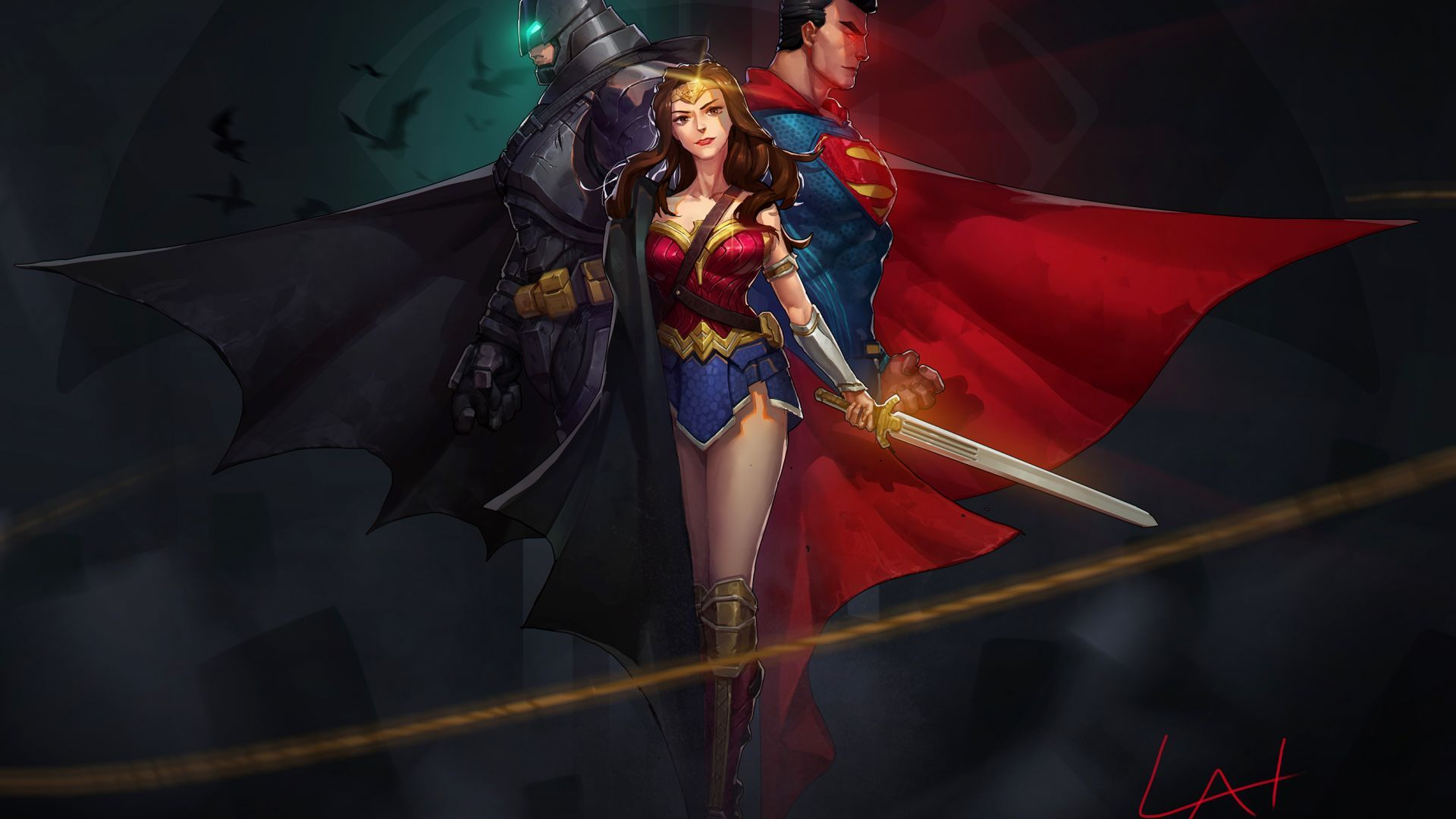 Wonder Woman Justice League 2021 Wallpapers