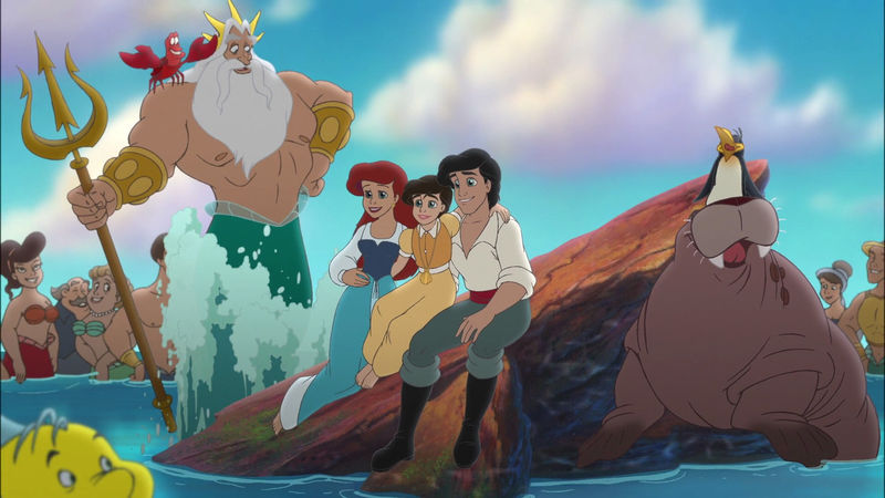the little mermaid and eric images