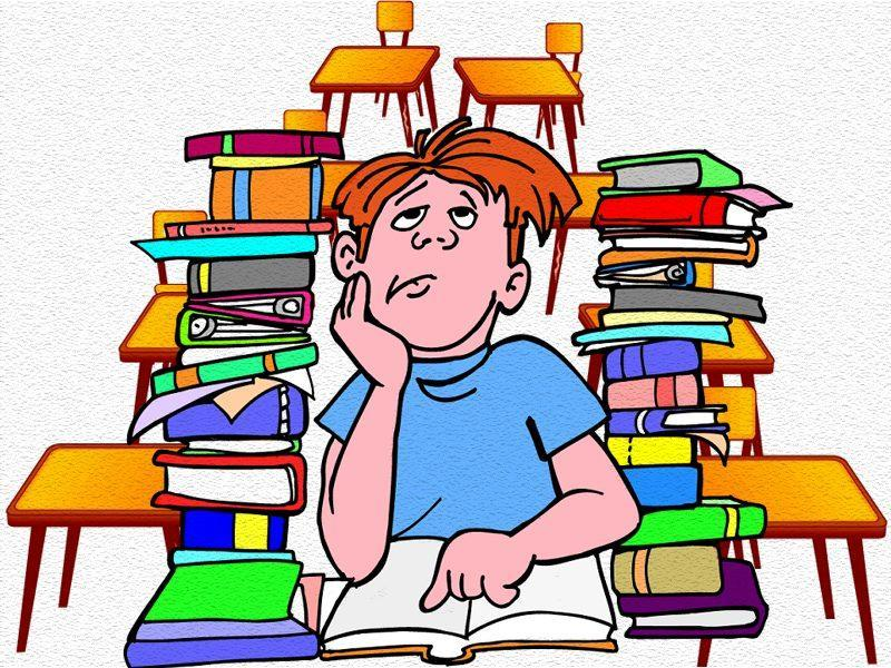 Animated Images Of A Student